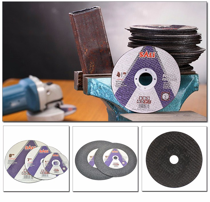 "SALI EN12413 MPA 4"" 4.5"" 5"" 7"" 9"" 12"" 14"" 16"" Abrasive Cutting Disc for Metal, Metal Cutting Disc"