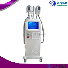Majical product with 2 treatment handles cryo fat freezing body slimming machine
