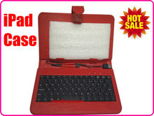 Leather Case for iPad 2 3 4, For iPad Leather Case with Keyboard