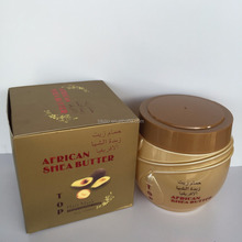 manufacturer Private label korean hair care shea butter cream at home best hair mask for dry hair