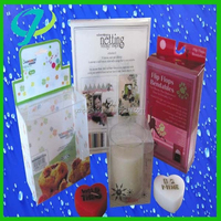 pvc Gift Clear Hard Plastic Packing Box