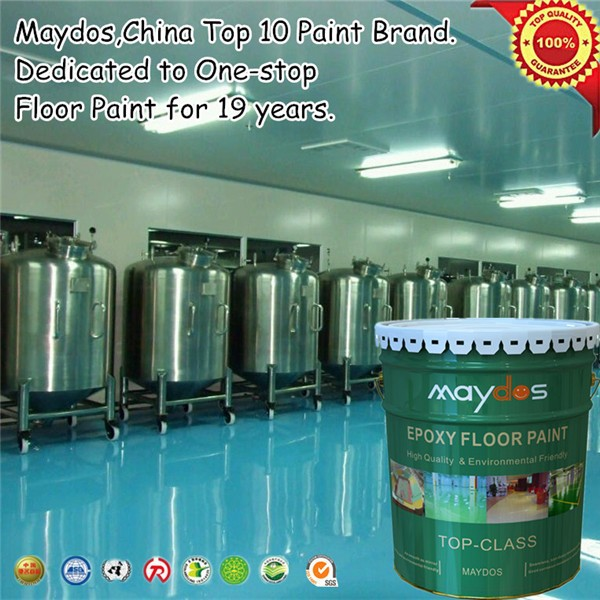 scratch resistant concrete strengthen liquid epoxy floor paint