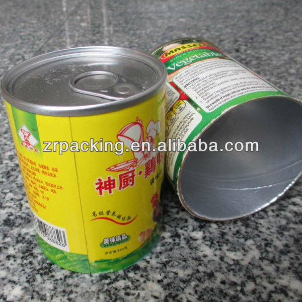 Tin spice containers
