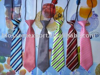 Handsome fashion Child printed tie