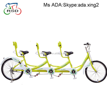 tandem touring bike for family 3 person,fashion life tandem bicycle two seats,cheap 2 people tandem bikes for sale
