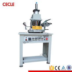 pneumatic driven semi automatic flat surface silver and gold hot foil printer