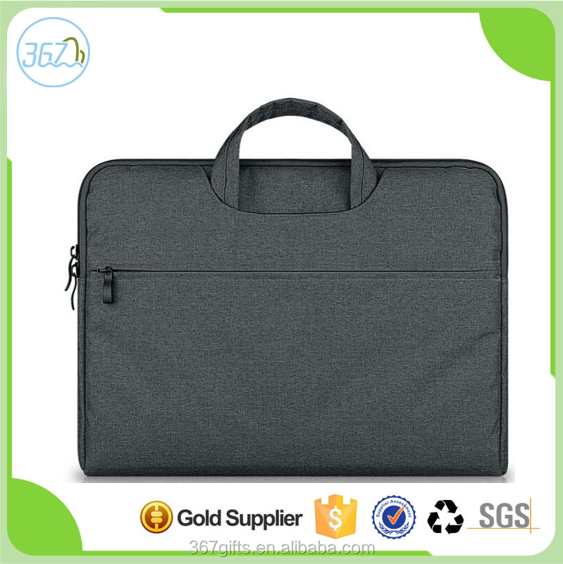 Wholesale Good Quality Shockproof Briefcase Laptop Bag Computer Bag with Sleeve Lining