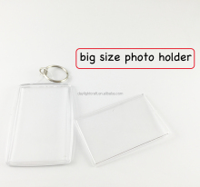 5x7 picture frame plastic keychain holder