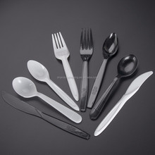 biodegradable disposable tableware one-time-use small disposable Plastic Dessert Spoon