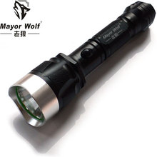 Rechargeable torch flashlight Aluminum led cree xm l2 flashlight light 1000 lumen flashlight