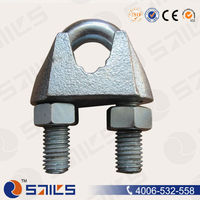 US type malleable cable fastener clamp hardware