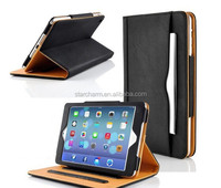 Luxury smart case tablet cover for ipad air 2 leather case