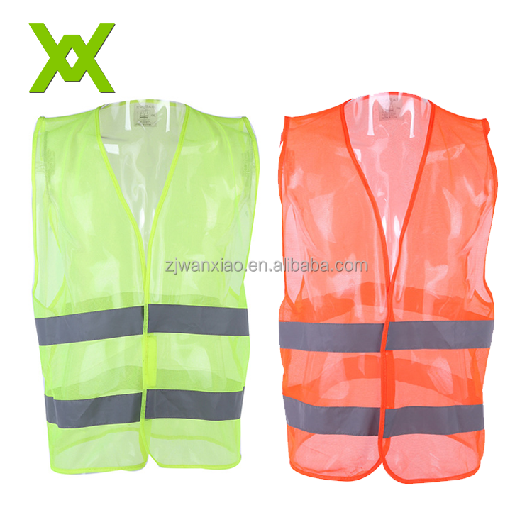 manufacture hot sell cheapest mesh common <strong>safety</strong> reflective running vest