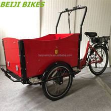 "Cargo Use For and Open Body Type 26"" steel 7 speed tricycle / trike / adult cargo bike"