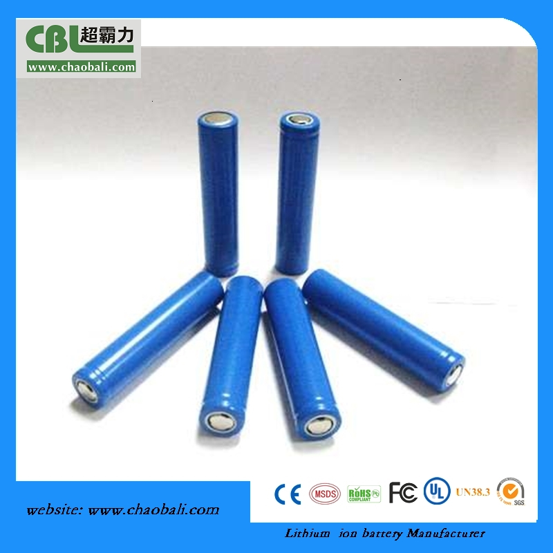 rechargeable cylindrical 18650 3.7V 2500mAh battery cell for R/C motor