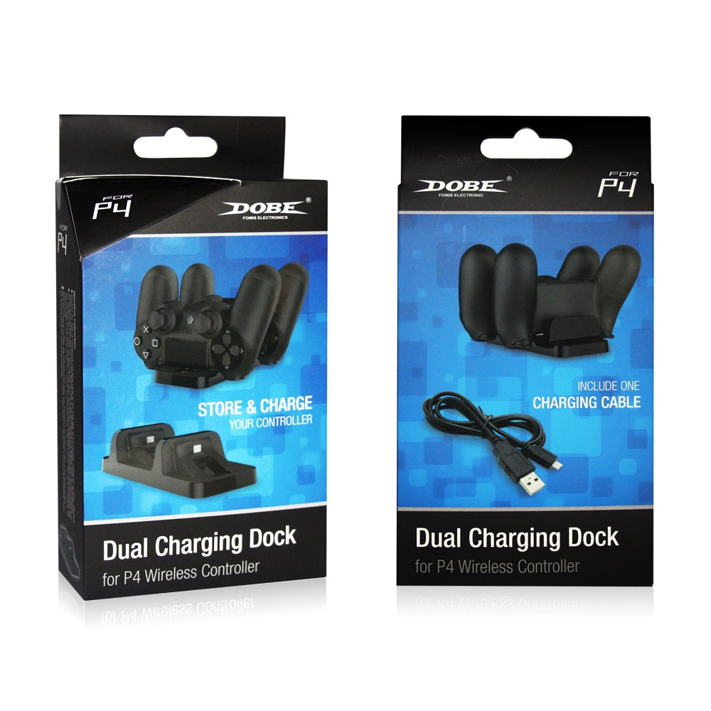 Dual charger for ps4 game controller