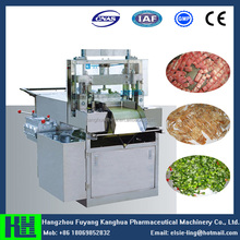 Industrial peanut brittle and nougat cutting machine
