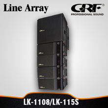 "Passive Compact 8"" Two-Way Line Array / Professional Line Array Speakers"