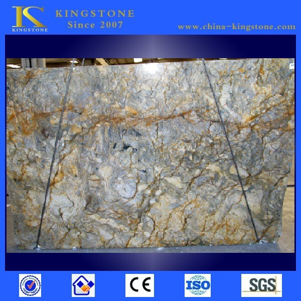 Good Quality brazil azul fusion blue granite slab for sale
