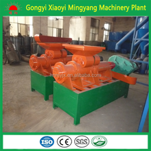 Mingyang machinery plant rice husk briquette charcoal coal dust extruder machine