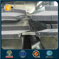 Construction Material Galvanized Z Purlin / Z Channel UAE COLD FORMED STRUCTURAL Z PURLIN