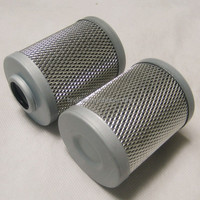 Supply Stainless steel diamond mesh High Pressure Oil filter HX-400X10 Demalong oil filter cartridge