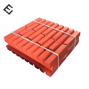 High Manganese Steel Jaw Plate for crusher