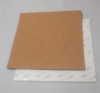 2pcs* Reprap 3D Printer 214x214mm adhesive cork sheets For MK2 Heatbed Hot Plate with tape 214*214 mm thermal cork plate