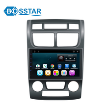 2 Din Car Radio Audio Player For Sportage 2007 with AUTO/MANUAL AIR-Conditional GPS DVD Navigation Stereo
