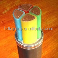 electrical power cable, CU/XLPE/PVC R02V U1000 600/1000V, cable for construction porjects