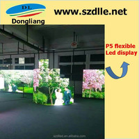 New products hot sales HD p4 indoor flexible led display