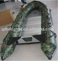 CE 3.6m CAMO color sail inflatable sports boats used aluminum