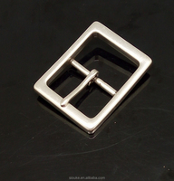 Jenly 45MM Square buckle ZINC ALLOY metal Single pin belt buckle