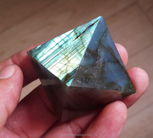 natural labradorite quartz crystal egypt pyramid healing crystal stones for decoration