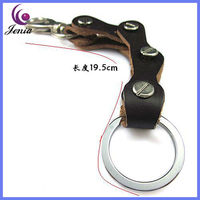 2013 NEW PRODUCT HOT SALE PROMOTIONAL LEATHER KEY CHAIN &K016