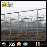 garden used greenhouses for sale , cover film green house , hot sale glass greenhouse