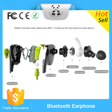 Innovative design no control box s bluedio Q5 port bluetooth earphone