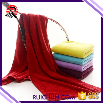 30*120cm fast drying sweat running microfiber sports towel