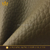 Lichee Pattern Real Fur Skin Men