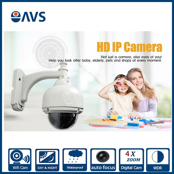Home <strong>Security</strong> 4 Inch HI3518E Chipset Low Lux PTZ Waterproof 4X Zoom HD 1.0MP POE IP Camera