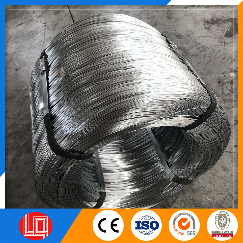 big coil weight electro galvanized iron wire manufacturer