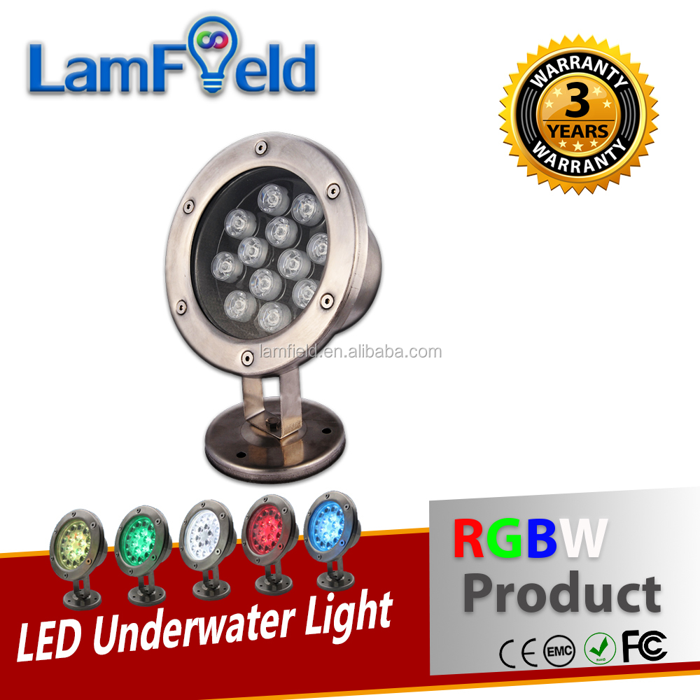 20W DMX LED Pool Light RGBW Underwater Lamp With DMX512 Controller