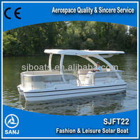 SANJ SJFT22 Solar Power Catamaran Ship for sale