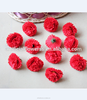 2017 Hot sell decorative carnation flower heads artificial carnation for wedding decoration