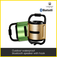innovative fashionable portable mini climber bluetooth speaker with hook