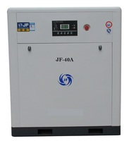 JF-40A VSD Screw Air Compressor (Belt Driven) & Components of air compressor