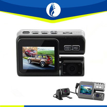 "2.7""LCD 720P Full HD 120 degree Wide Angle Dual Lens Night Vision Car DVR Driving Loop"
