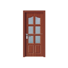 PVC WOOD INTERIOR DOOR/french door/kitchen SWINGING door