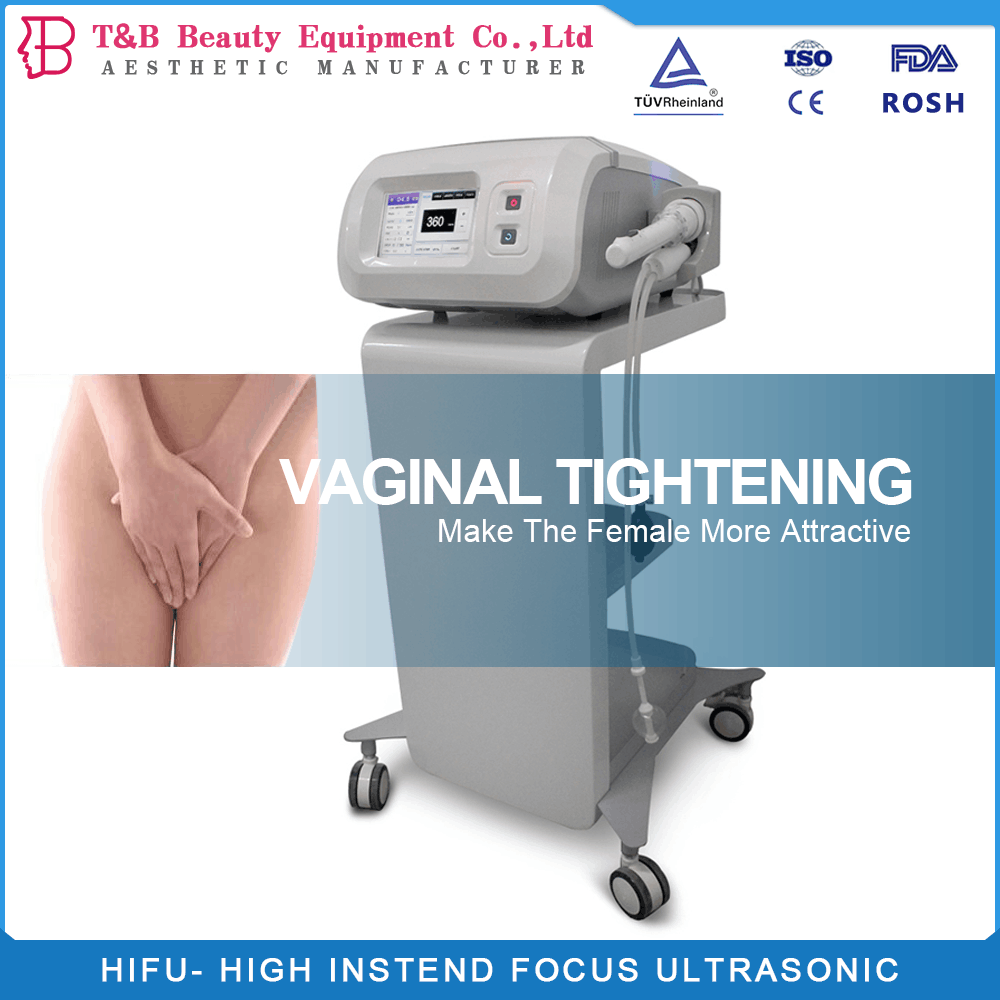 portable women sex hifu vaginal tightening machine with 10000shots