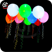 China Balloon Factory Led Balloons Flashing Blinking Light